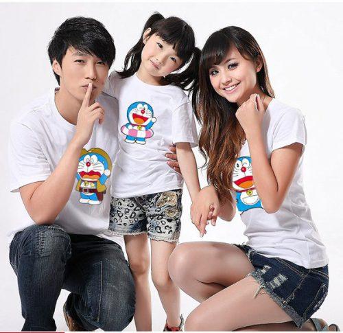 in áo thun gia đình chất lượng, đẹp, rẻ