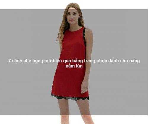 7 cách che bụng mỡ hiệu quả bằng trang phục dành cho nàng nấm lùn