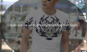 Chuẩn soái ca với thời trang áo phông Hàn Quốc