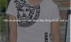 Những mẫu áo phông nam Hàn Quốc đẹp đúng chuẩn soái ca