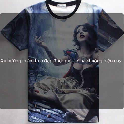 Xu hướng in áo thun đẹp được giới trẻ ưa chuộng hiện nay