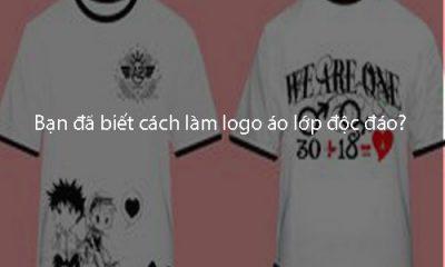 Bạn đã biết cách làm logo áo lớp độc đáo?