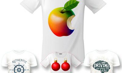 In áo thun cotton 100% màu trắng bằng máy in vải trực tiếp cực đẹp giá rẻ